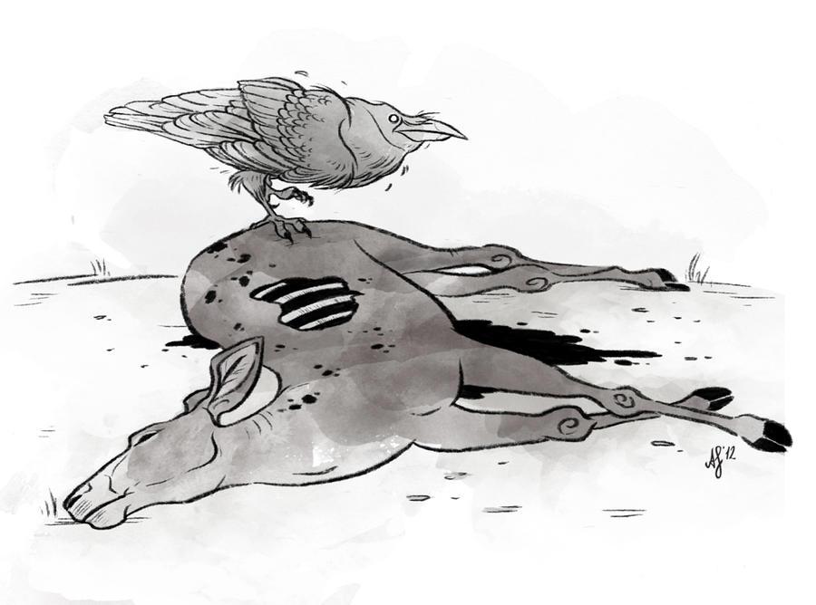 Line Drawing Deer : South andean deer drawing fossils