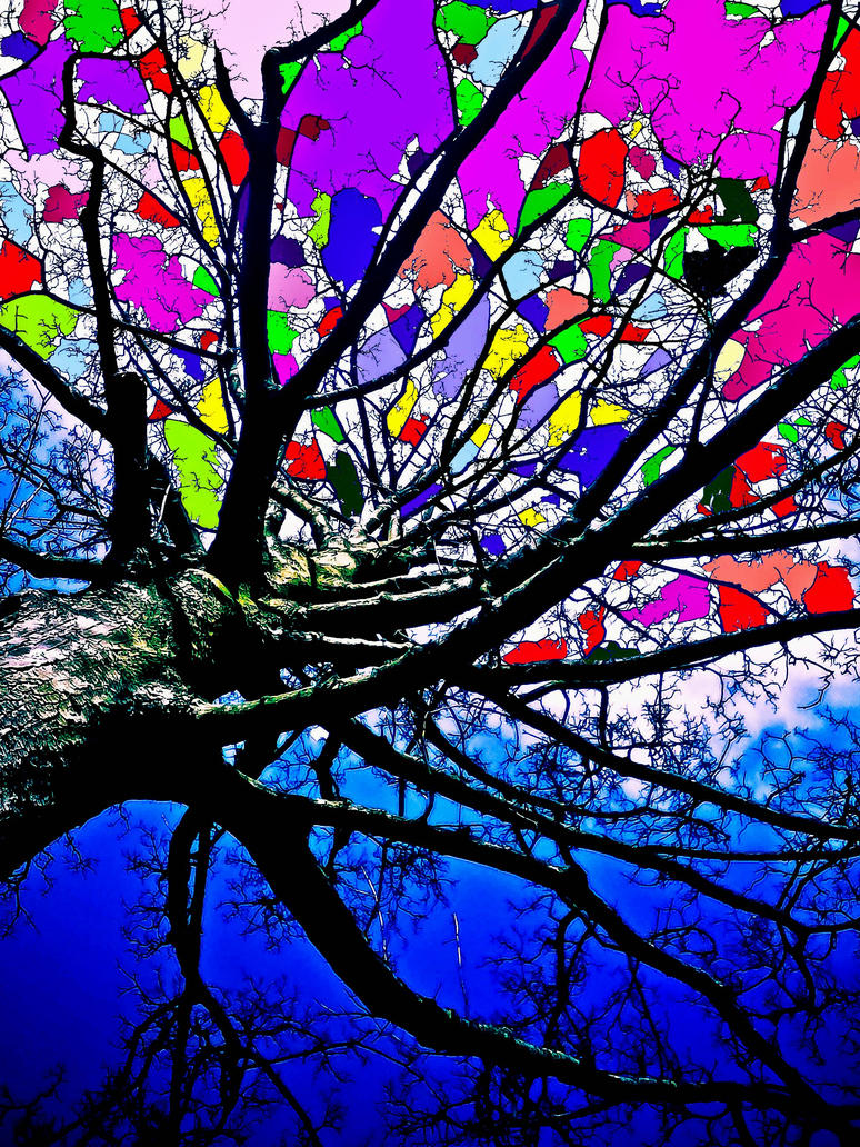 LSD tree by Paganpoetry17