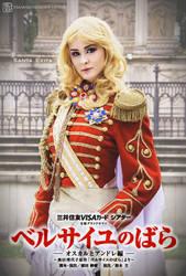The Rose of Versailles by Santa-Evita