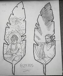 class sketch by zf705