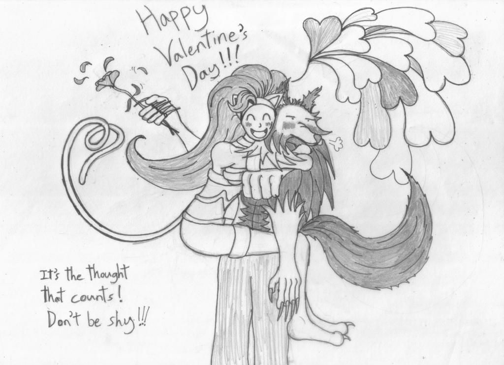 Valentine's gift by killjoySG
