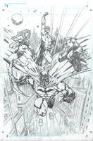 DC superheroes commission by IwanNazif