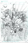DC superheroes commission