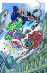 Avengers kids by IwanNazif