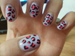 pink and purple leopard print