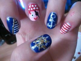 nautical nails by yushi25