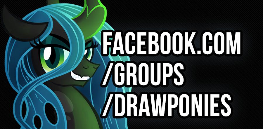 Facebook.com/groups/drawponies by celestia-plz