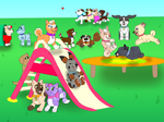 A day at the pup park contest entry