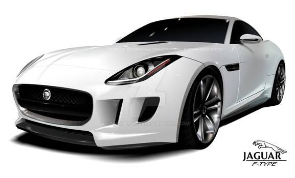 Jaguar F-type Vector Car - Corel Draw - mastervali