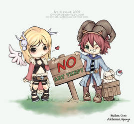 NO to ART THEFT by owdof