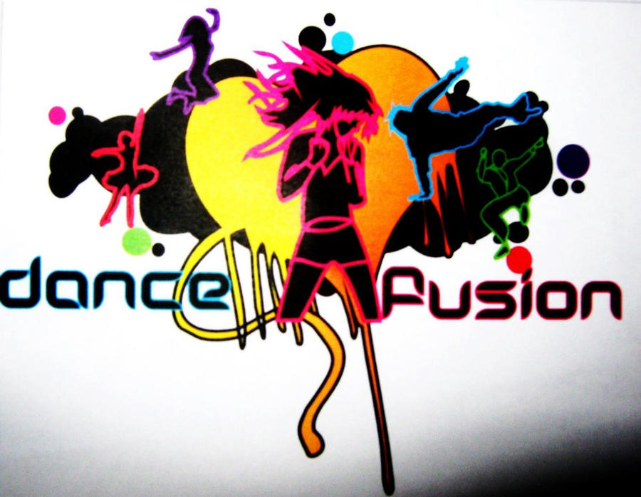 Dance Logos Graphic Design Dance Fusion Graphic Logo by