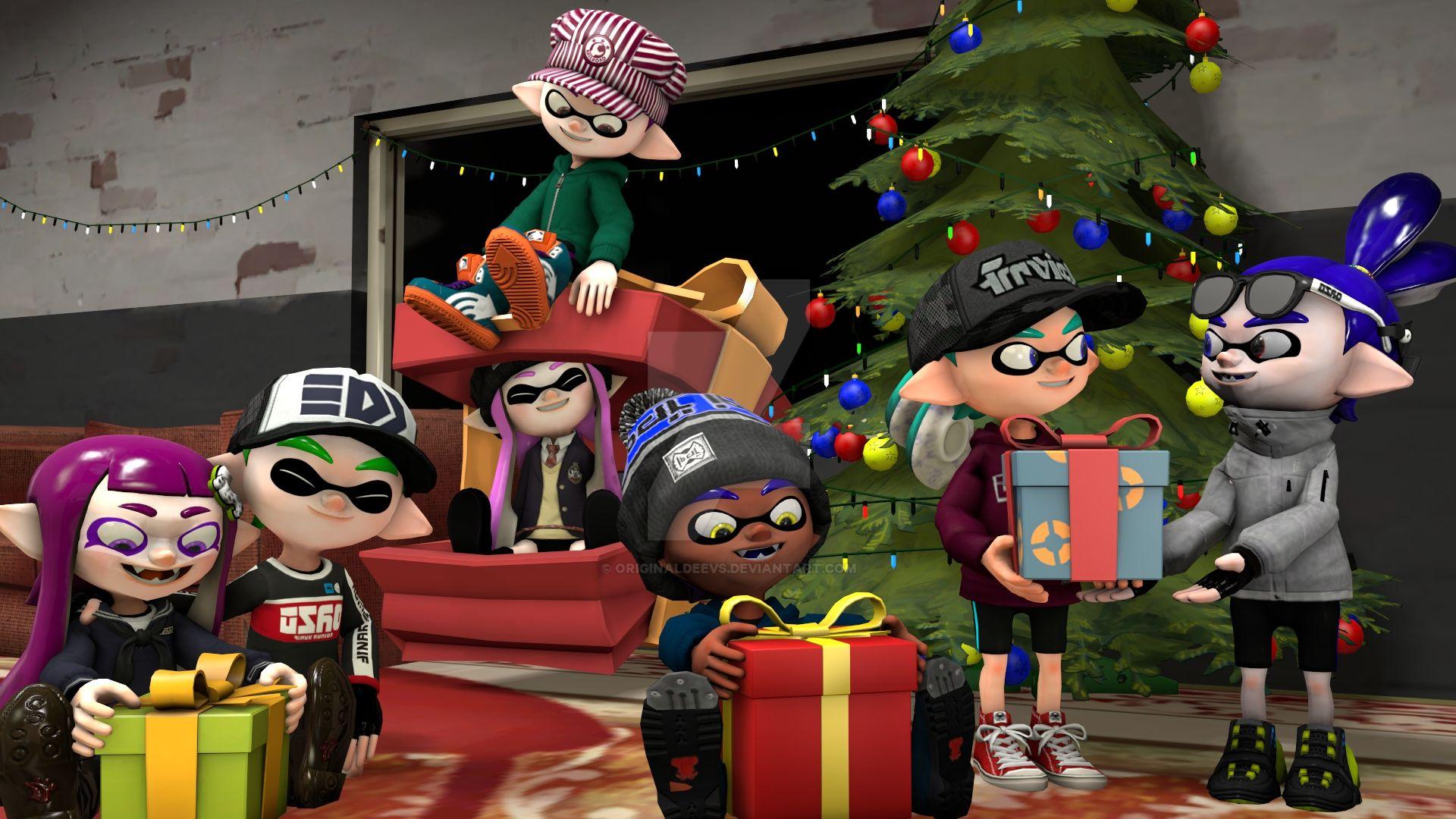 Christmas poster by OriginalDeevs