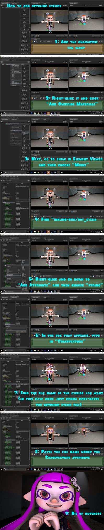Tutorial: How to add Octoling eyelids in SFM by OriginalDeevs