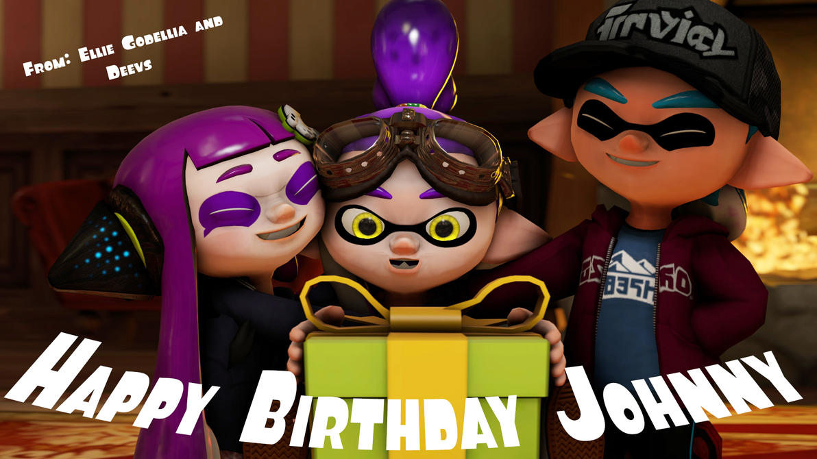 Happy Birthday Johnny by OriginalDeevs