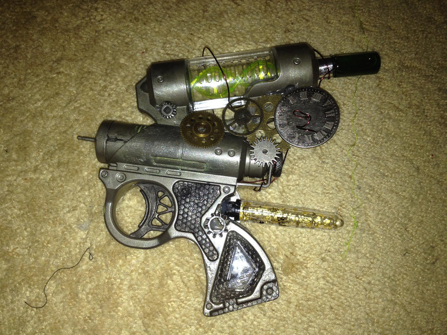 Steampunk Medical Injection Gun by JessicaSilverflame on ...