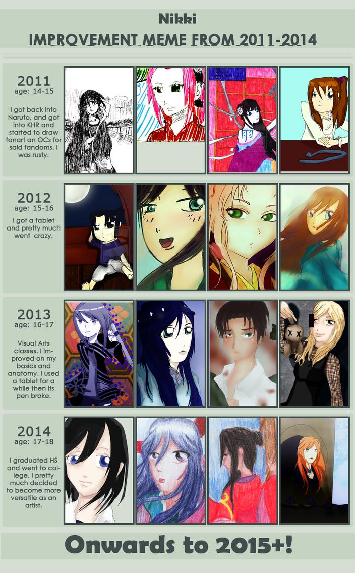 Improvement Meme from 2011-2014 by nejiHolic