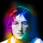 John Lennon Low Poly