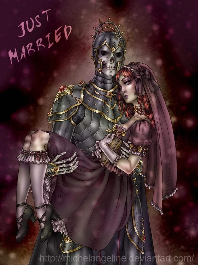 Just Married by Michelangeline