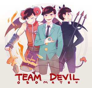 Osomatsu-san - Team Devil