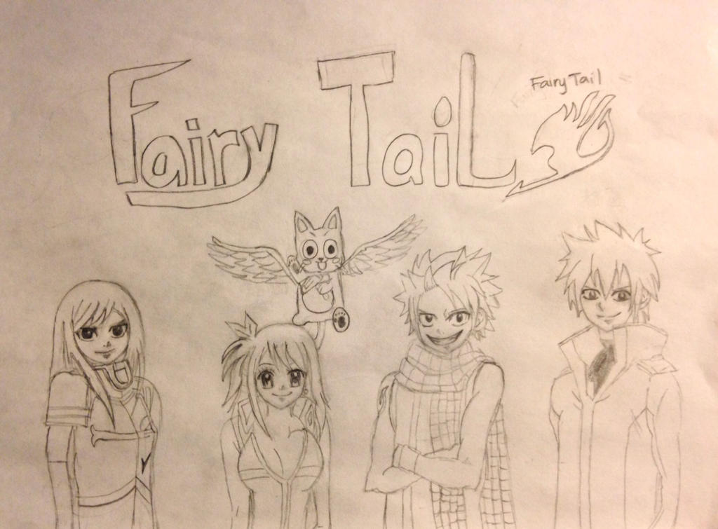 Fairy Tail by francineli