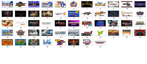 My PSN (Ps3) Games Collection and Wishlist
