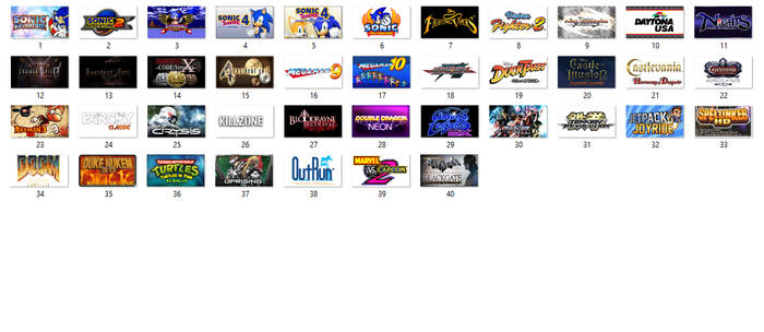 My PSN (Ps3) Games Collection and Wishlist by matheusjose195