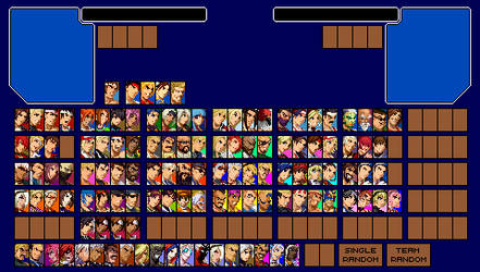 Kof Core Evolution - Player Select (Incomplete) by matheusjose195