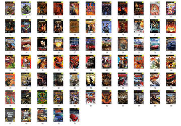 My Xbox Games Collection and Wishlist by matheusjose195