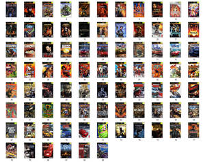 My Xbox Games Collection and Wishlist