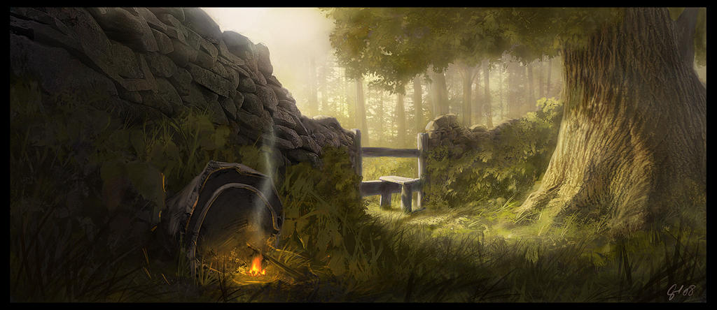 Woodland Mouse House by Gaius31duke