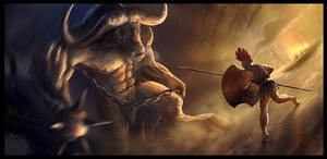 Minotaur by Gaius31duke