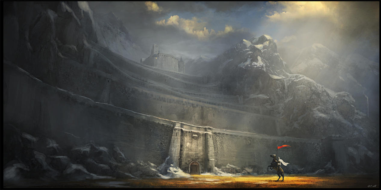 The Fortress Of Dros Delnoch by Gaius31duke
