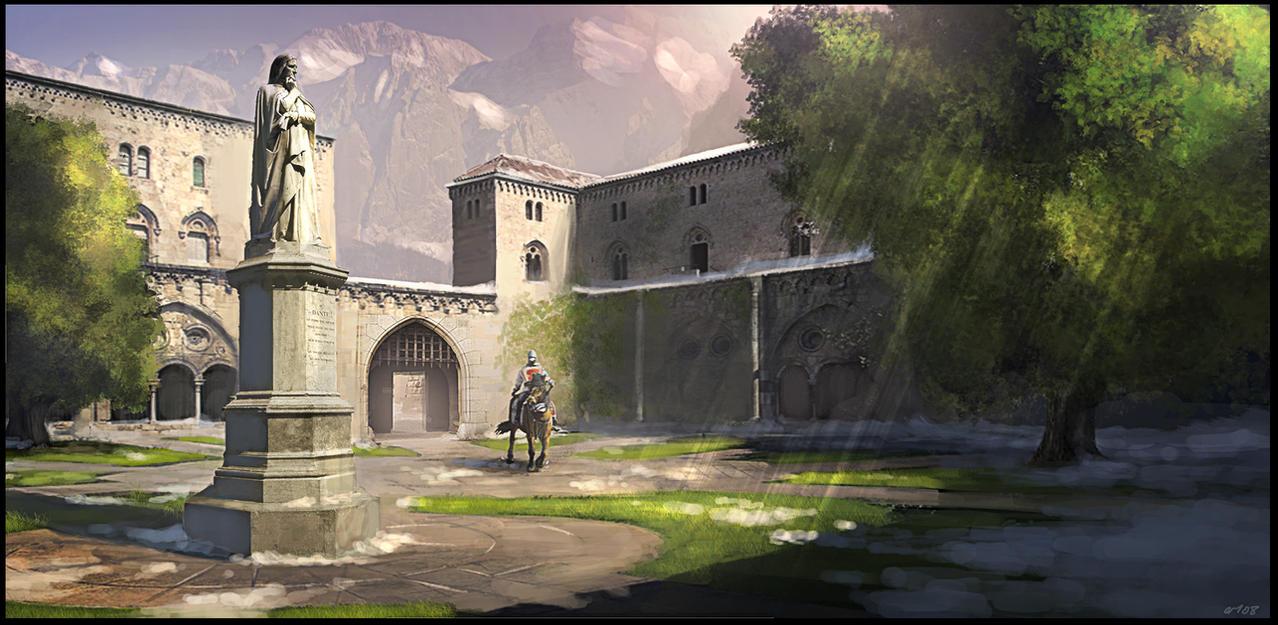 Warrior Monks by Gaius31duke