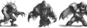 Creature Doodles by Gaius31duke