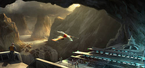 Cavern Base Flight Deck by Gaius31duke