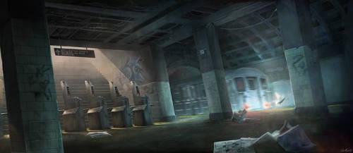 Subway by Gaius31duke