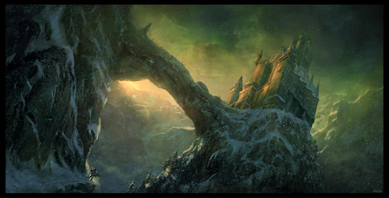 Draculas castle by Gaius31duke