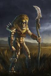 Lion Man by Gaius31duke