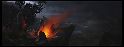Macbeth : The Blasted Heath by Gaius31duke
