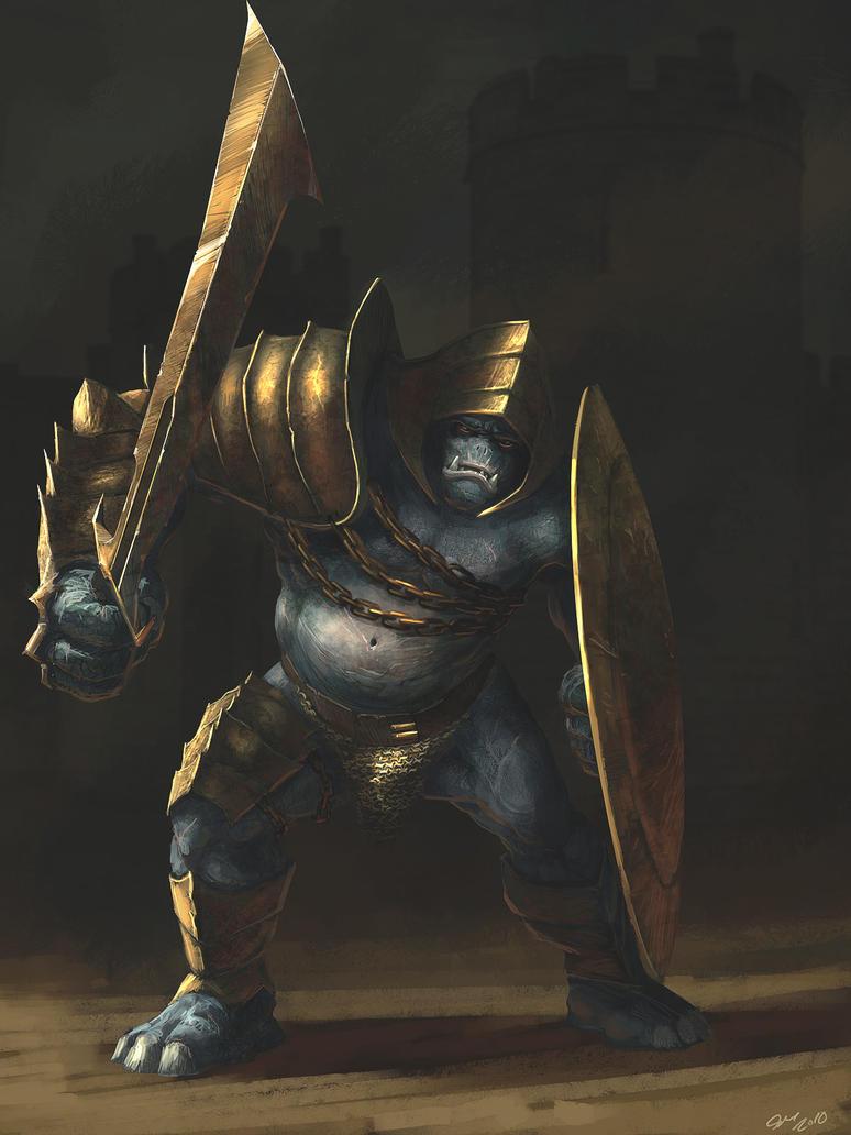 Dungeon Troll Kings Guard by Gaius31duke