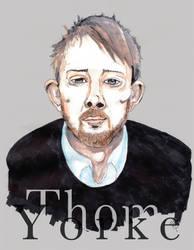 Thom Yorke by Manuelinachan