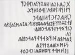 Birthday Calligraphy for my favorite Kalmyk friend by genggiyen-ejen