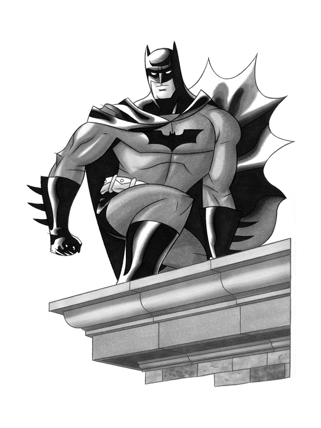 Batman Commission by comixmill