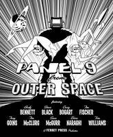 Panel 9 From Outer Space Cover by comixmill