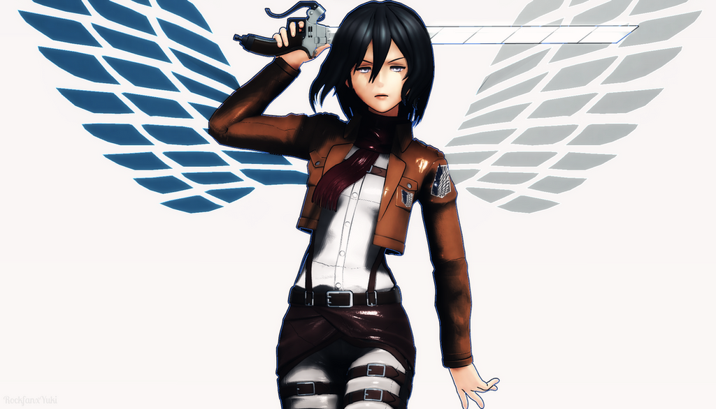 :MMD: Wings of Freedom by RockfanXYuki