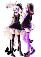 :MMD: Flower Yukari by RockfanXYuki
