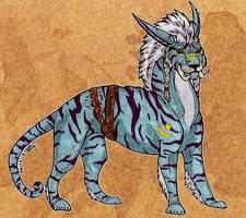 Dru cat form by Tigresa89