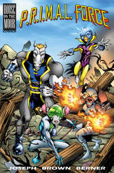 P.R.I.M.A.L. FORCE - Issue 1 cover