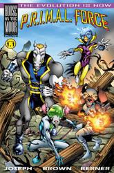 P.R.I.M.A.L. FORCE - final cover design