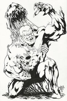 Eddie Brock/Venom - DARK ORIGIN (11x17)